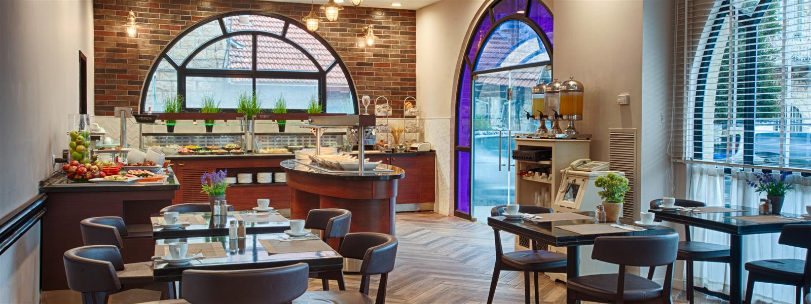 The Restaurant in Eldan Hotel - Boutique hotel in Jerusalem
